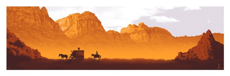 DJANGO UNCHAINED by artist Mark Englert
