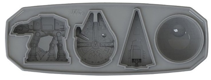 Star Wars Ships Ice Cube Tray