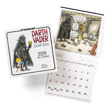 Darth Vader & Son 2014 Wall Calendar