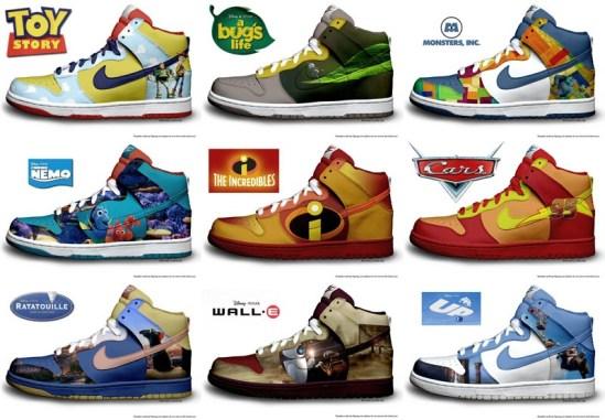Pixar Nike sneakers