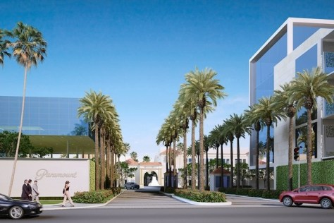 Paramount Studio Lot Expansion