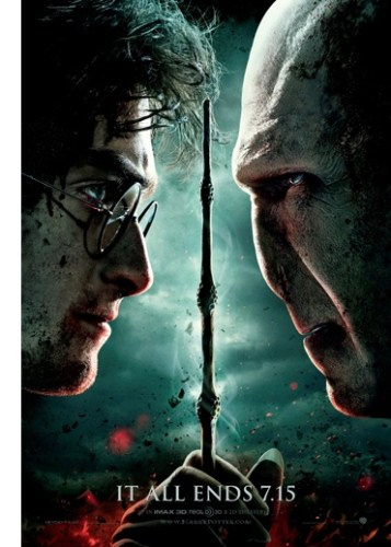 """If only I had a nose,"" Voldemort thought, ""I, too, could wear 3D glasses."""