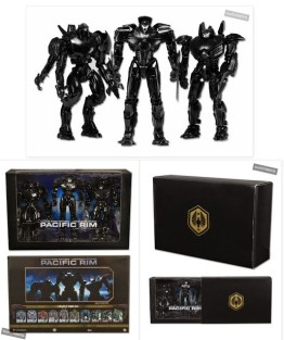 "Pacific Rim ""End Titles"" Jaeger Action Figure 3-Pack by NECA"