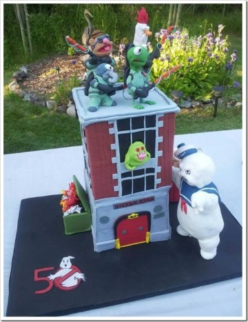 The Muppets Meet The Ghostbusters cake