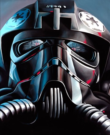 "Christian Waggoner's ""Tie Fighter Pilot"""