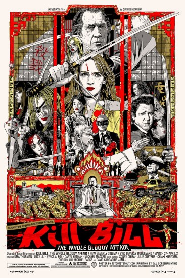 Tyler Stout's Kill Bill poster
