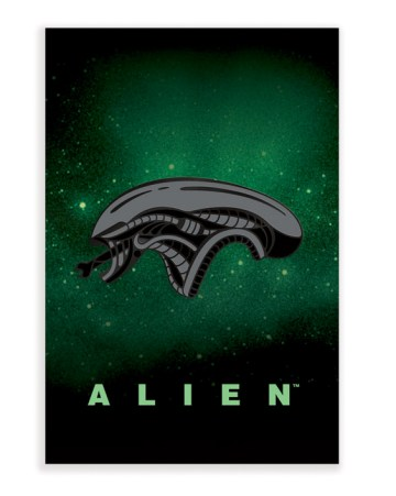 Mondo Alien Enamel Pin