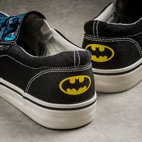 batman slip on shoes