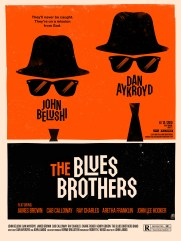 blues brothers - Olly Moss