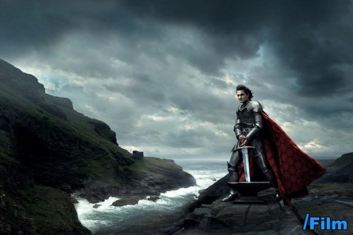 Roger Federer as King Arthur
