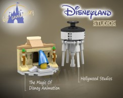 Disneyland LEGO