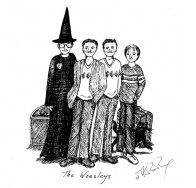 J.K. Rowling Harry Potter Sketches - The Weasleys