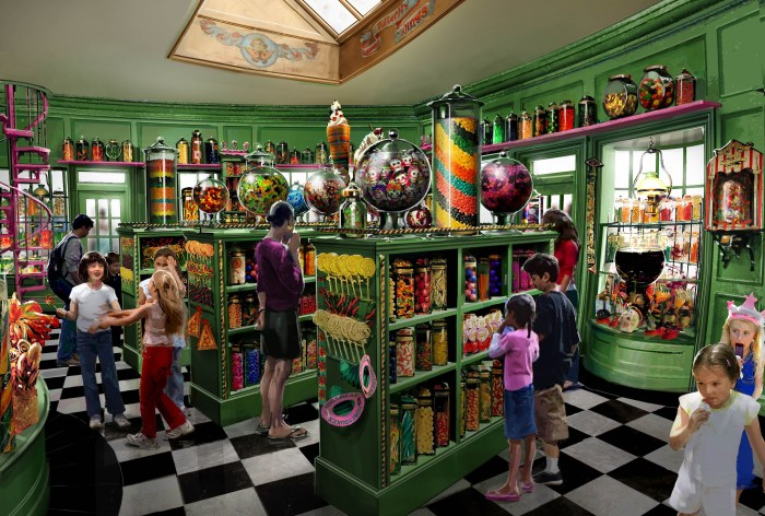 The Wizarding World of Harry Potter - Honeydukes