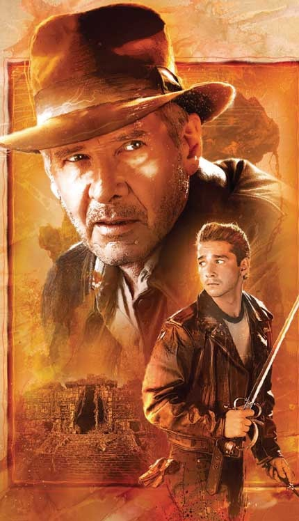 Indiana Jones 4 Comic Book Cover