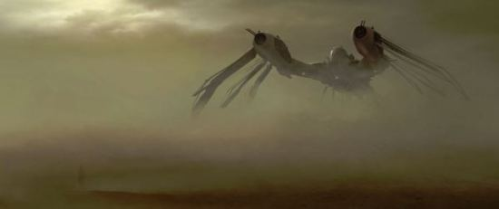 John Carter Concept art Airship