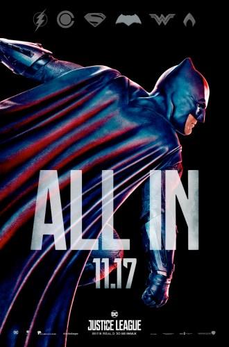 Batman Poster - Justice League