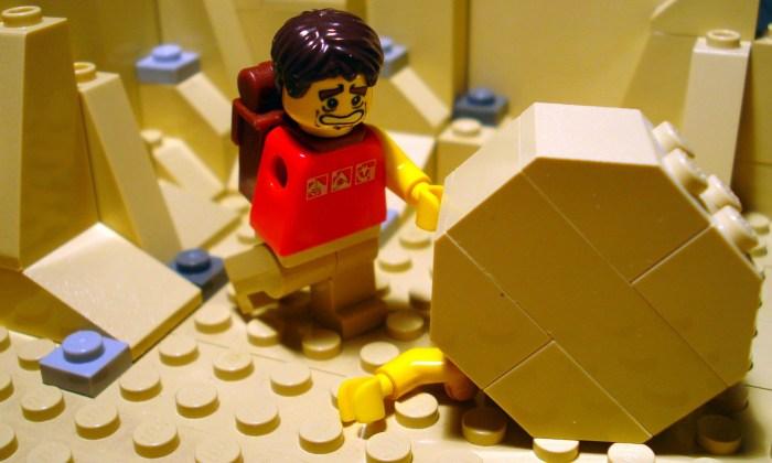 Lego 127 Hours