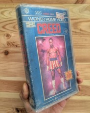 Modern VHS Movie Covers - Creed