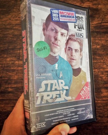 Modern VHS Movie Covers - Star Trek