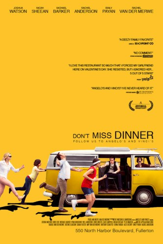 movie wedding invites - Don't Miss Dinner