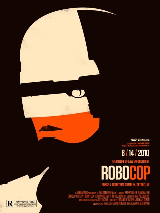 robocop - Olly Moss