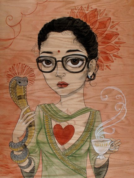 Sandi Calisto - Wes Anderson art