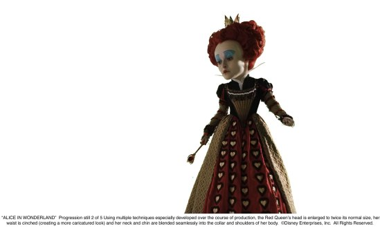 Alice in Wonderland: The Red Queen 2nd Progression 2 of 5