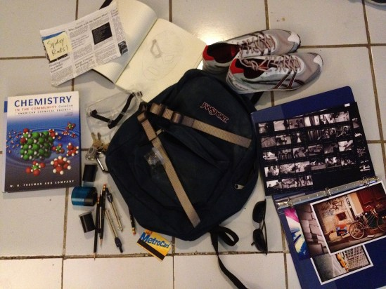 The Amazing Spider-Man viral: the insides of Peter Parker's backpack