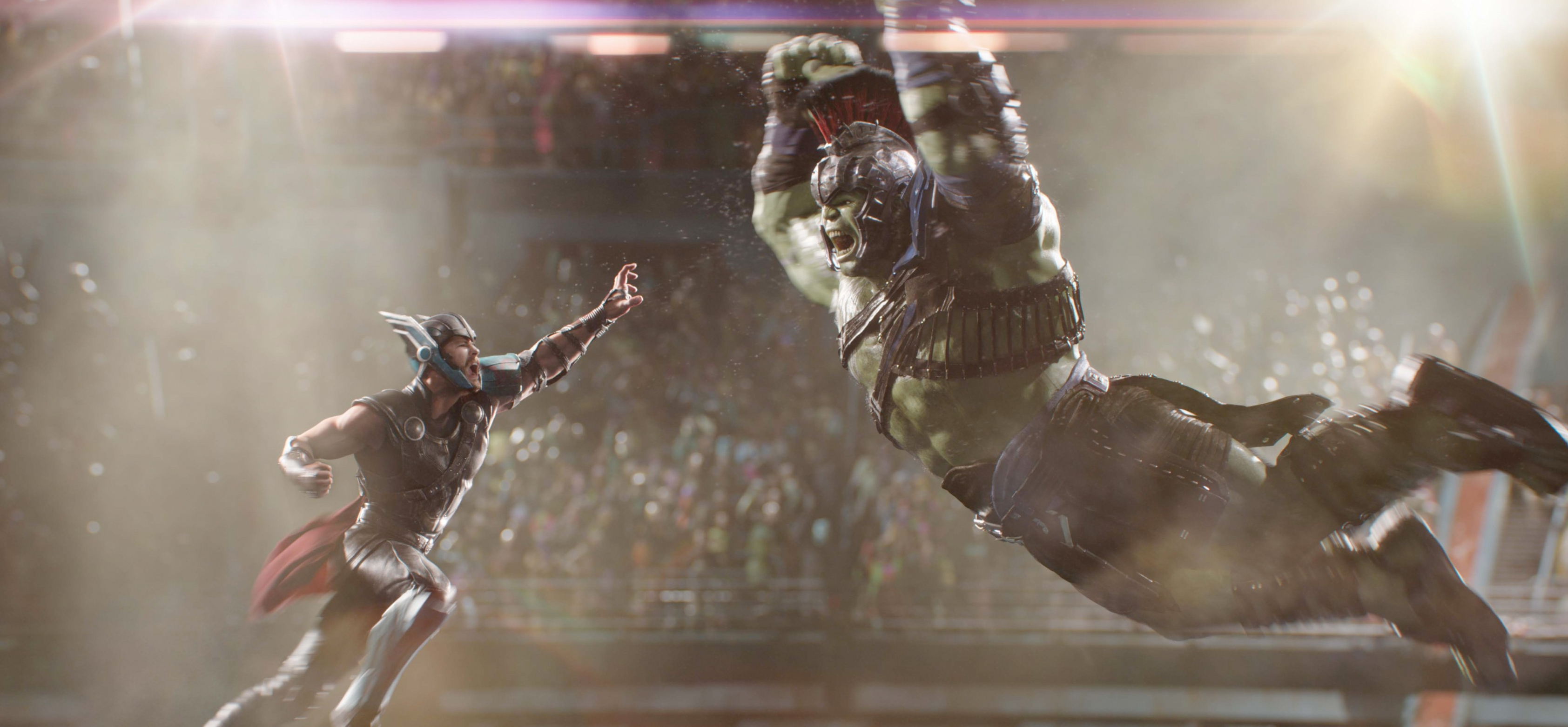 Wallpapers Hd Hulk Watch The Thor Vs Hulk Scene From Thor Ragnarok