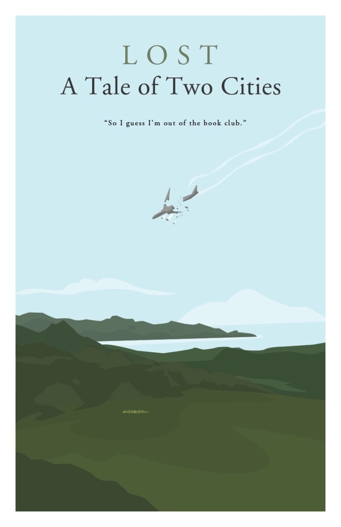 Gideon Slife's LOST Posters