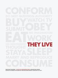 Brandon Schaefer's They Live Movie Poster