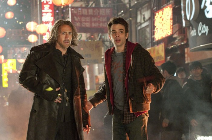 Nicolas Cage and Jay Baruchel in THE SORCERER'S APPRENTICE