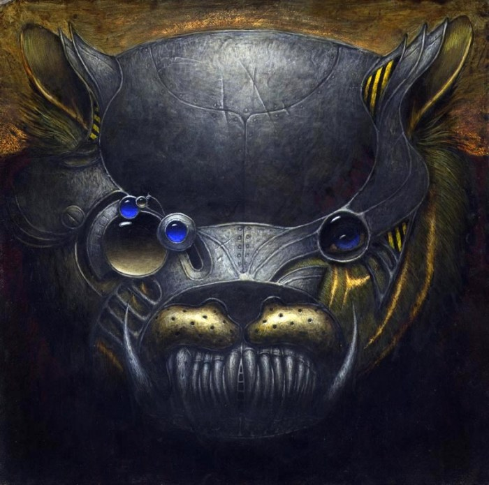 Under The Influence Art Show: Masters of the Universe - Cringer by Bill Carman