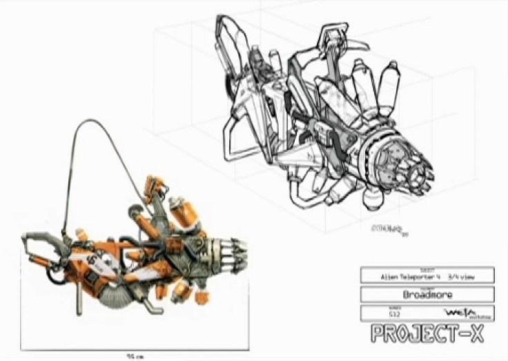 District 9 Alien Weapon Concept Art - /Film