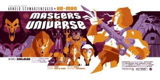Under The Influence Art Show: Masters of the Universe - Tom Whalen