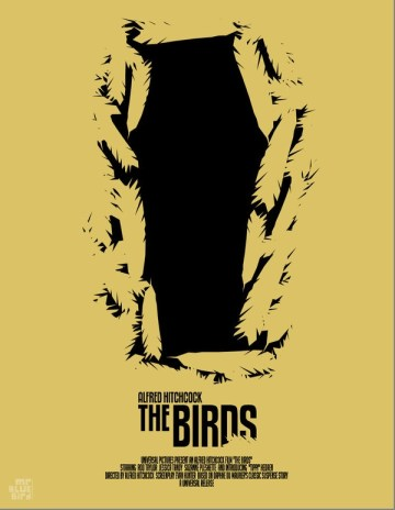 Mario Graciotti's Poster for Alfred Hitchcock's The Birds