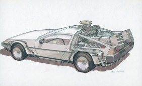 Back to the Future 2 Concept Art
