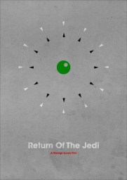 Jamie Bolton's Star Wars Return of the Movie Poster