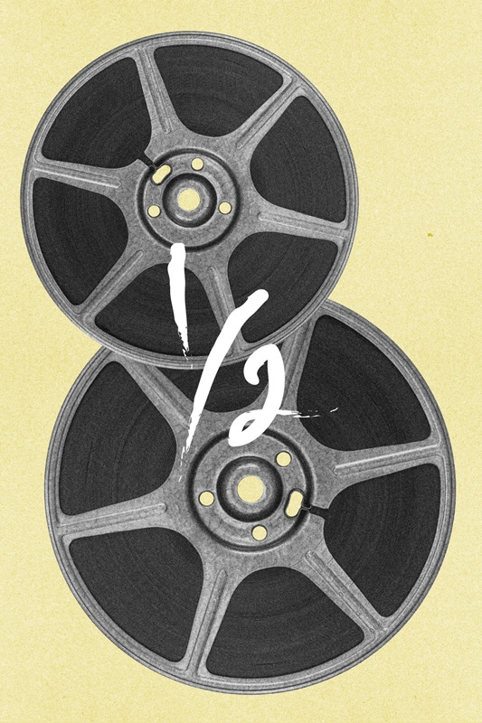 Brandon Schaefer's 8 1/2 Movie Poster