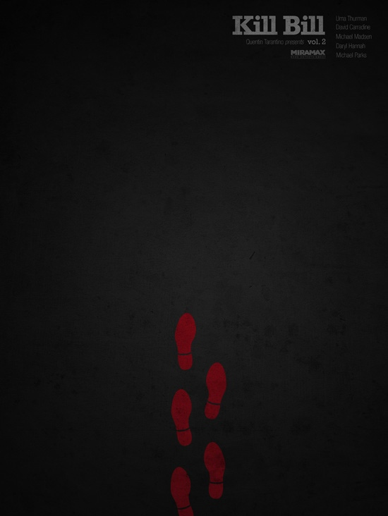 Ibraheem Youssef's Kill Bill Volume 2 Poster