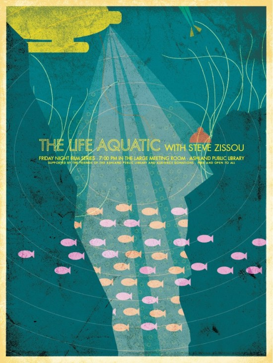 Brandon Schaefer's The Life Aquatic Movie Poster