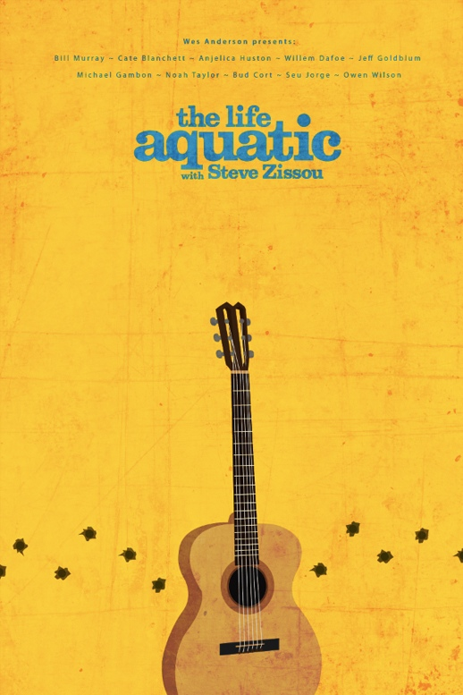 Ibraheem Youssef's The Life Aquatic Movie Poster