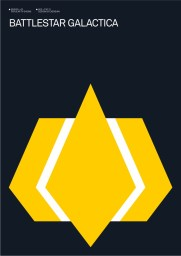Albert Exergian's Battlestar Galactica Poster