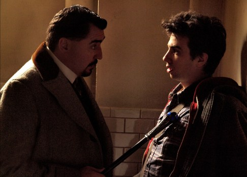 Alfred Molina and Jay Baruchel in THE SORCERER'S APPRENTICE