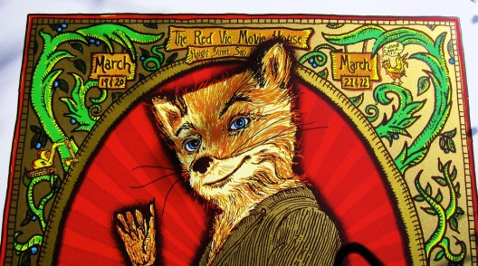 Zoltron's Fantastic Mr. Fox Poster