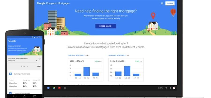 Google Compare Mortgages tool launches in California - SlashGear