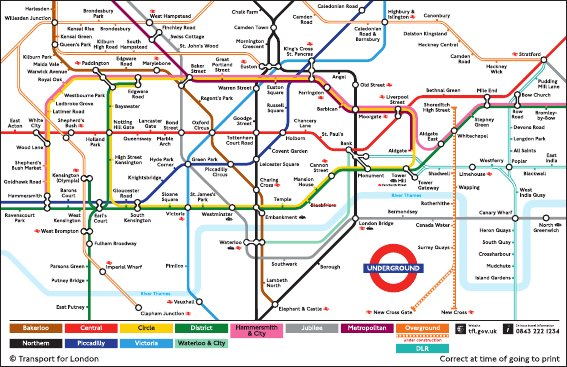 Edward Tufte forum London Underground maps (+ worldwide subway maps)
