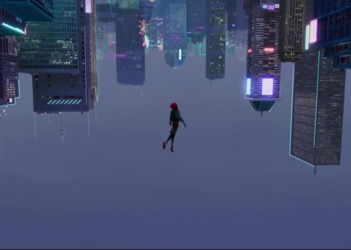 Animated Spider Wallpaper Marvel At The Teaser For Spider Man Into The Spider Verse