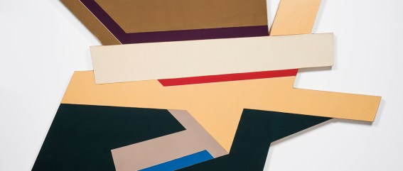 """""""Odeslk I"""" (1971) by Frank Stella at Sprüth Magers"""