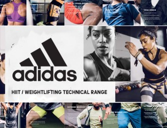 The new adidas HIIT / Weightlifting Technical Range